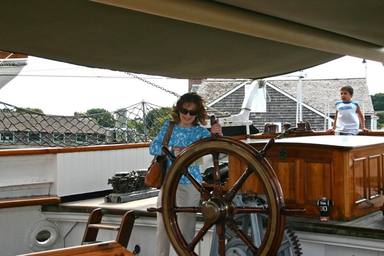 Patricia at the Helm